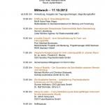 5. Sounddesignforum - Programm erster Tag