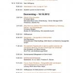 5. Sounddesignforum - Programm zweiter Tag