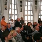 5. Sounddesignforum - Frankfurter Tor - Lounge im Turm - Präsentation Akustische Kamera der GFaI