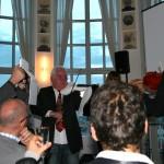 5. Sounddesignforum - Frankfurter Tor - Lounge im Turm - Jürgen Fleischhauer spielt die GAVARI-Geige