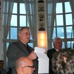 5. Sounddesignforum - Frankfurter Tor - Lounge im Turm - Dr. Friedrich Blutner und Jürgen Fleischhauer