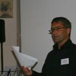 """5. Sounddesignforum - Frankfurter Tor - Lounge im Turm - Prof. Hannes Raffaseder spricht über """"Hören. Im Moment!"""""""