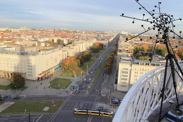 Die Akustische Kamera der GFaI e.V. misst den Verkehrslärm am Frankfurter Tor (Sounddesignforum 17. Oktober 2012)