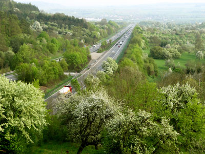Autobahn. Foto: Rainer Sturm / www.pixelio.de
